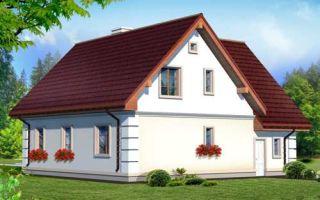 Проект мансардного дома 192 кв.м — 102-192