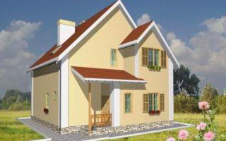 Проект дома с мансардой 120 кв.м — 103-120