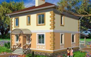 Проект двухэтажного дома 147 кв.м — 101-147