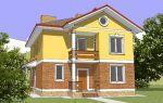 Проект двухэтажного дома 173 кв.м — 101-173