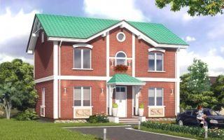 Проект двухэтажного дома 172 кв.м — 101-172