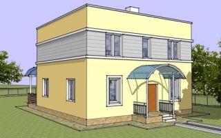 Проект двухэтажного дома 158 кв.м — 103-158