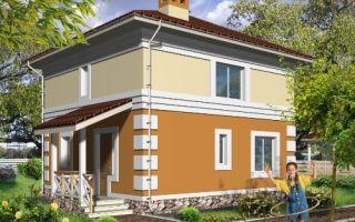 Проект двухэтажного дома 93 кв.м — 101-093