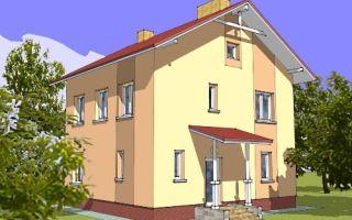 Проект двухэтажного дома 111 кв.м — 101-111
