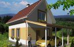 Проект дома с мансардой 71 кв.м — 101-071