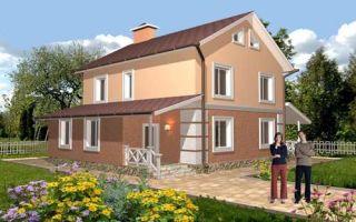 Проект двухэтажного дома 177 кв.м — 103-177