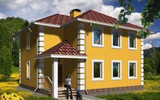 Проект двухэтажного дома 126 кв.м — 101-126