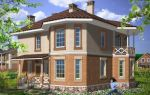Проект двухэтажного дома 174 кв.м — 105-174