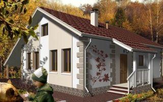Проект дома с мансардой 130 кв.м — 101-130