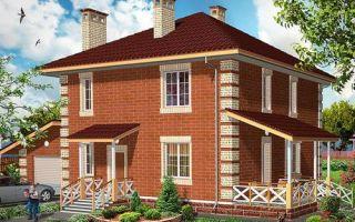Проект двухэтажного дома 161 кв.м — 103-161