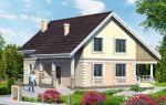 Проект мансардного дома 152 кв.м — 104-152