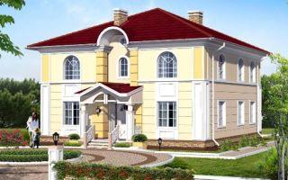 Проект двухэтажного дома 210 кв.м — 102-210