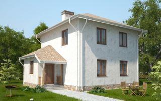 Проект двухэтажного дома 118 кв.м — 102-118