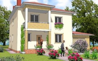 Проект двухэтажного дома 209 кв.м — 102-209