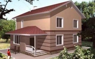Проект двухэтажного дома 169 кв.м — 101-169