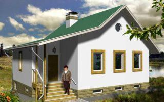 Проект одноэтажного дома 135 кв.м — 101-135