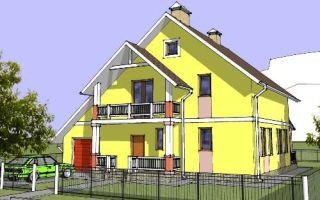 Проект двухэтажного дома 171 кв.м — 103-171