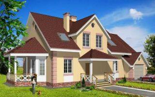 Проект мансардного дома 261 кв.м — 102-261