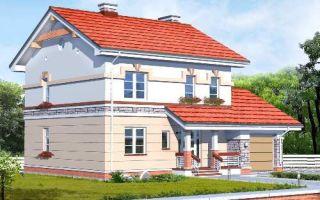 Проект двухэтажного дома 169 кв.м — 103-169