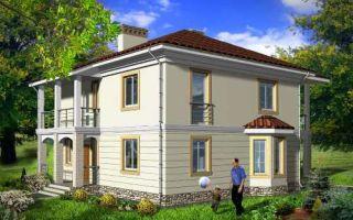 Проект двухэтажного дома 165 кв.м — 101-165