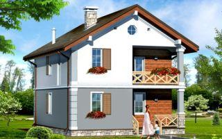 Проект двухэтажного дома 122 кв.м — 102-122