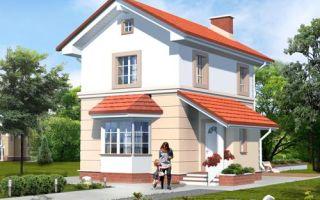 Проект двухэтажного дома 73 кв.м — 103-073