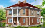 Проект двухэтажного дома 158 кв.м — 102-158