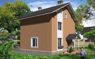Проект двухэтажного дома 114 кв.м — 102-114