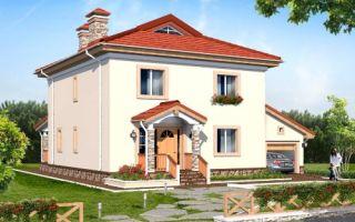 Проект двухэтажного дома 203 кв.м — 102-203