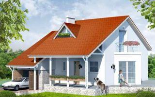 Проект мансардного дома 179 кв.м — 101-179