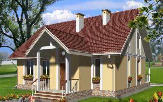 Проект мансардного дома 157 кв.м — 101-157