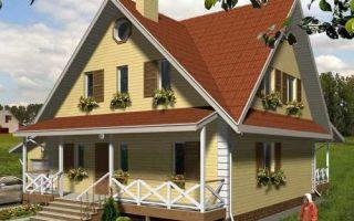 Проект мансардного дома 165 кв.м — 103-165