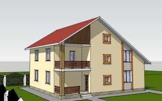Проект двухэтажного дома 216 кв.м — 102-216