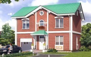 Проект двухэтажного дома 172 кв.м — 102-172