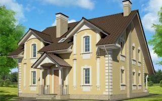 Проект двухэтажного дома 218 кв.м — 101-218