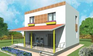 Проект двухэтажного дома 103 кв.м — 102-103