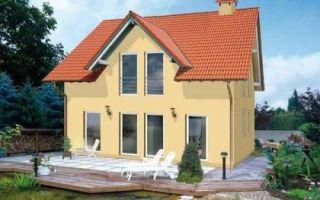 Проект дома с мансардой 112 кв.м — 103-112