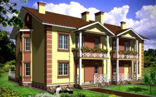Проект двухэтажного дома 286 кв.м — 101-286
