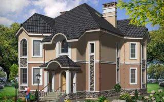 Проект двухэтажного дома 254 кв.м — 101-254