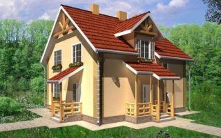 Проект двухэтажного дома 138 кв.м — 102-138