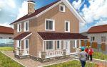 Проект двухэтажного дома 145 кв.м — 102-145
