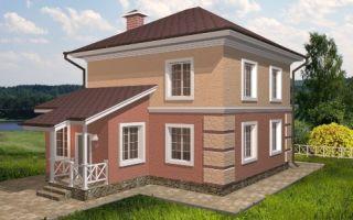 Проект двухэтажногодома 120 кв.м — 101-120