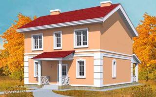 Проект двухэтажного дома 158 кв.м — 101-158