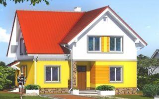 Проект мансардного дома 175 кв.м — 104-175