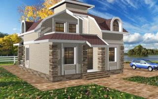Проект двухэтажного дома 156 кв.м — 101-156