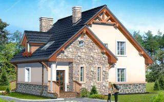 Проект мансардного дома 161 кв.м — 101-161