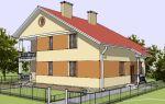 Проект двухэтажного дома 220 кв.м — 102-220