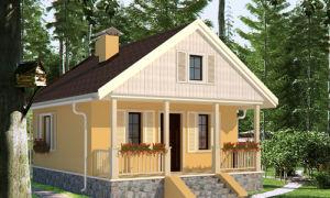 Проект дома 35 кв.м — 101-035