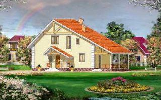 Проект мансардного дома 151 кв.м — 101-151