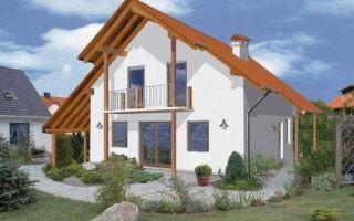 Проект дома с мансардой 112 кв.м — 101-112